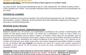 theme des poussins +  4 questions cultures judo